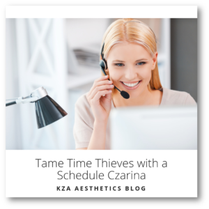 Tame Time Thieves with a Schedule Czarina