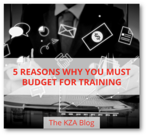 5 Reasons Why You Must Budget for Training