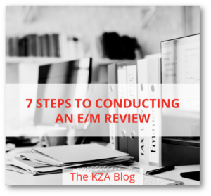 Seven Steps to Conducting an E/M Review