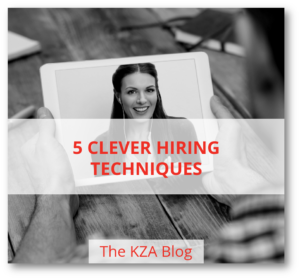 5 Clever Hiring Techniques