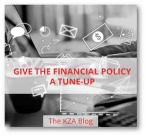 Give the Financial Policy a Tune-Up