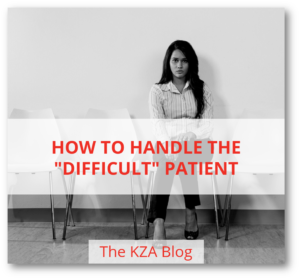 "How to Handle the ""Difficult"" Patient"