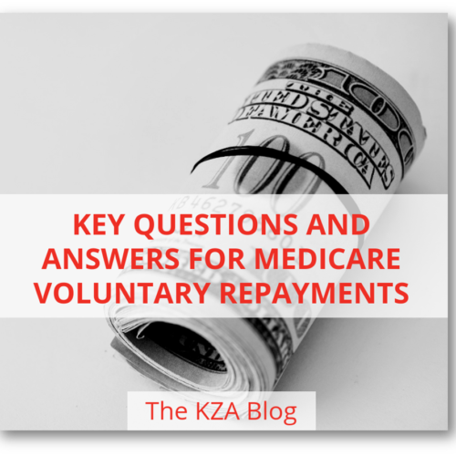 Key Questions and Answers for Medicare Voluntary Repayments