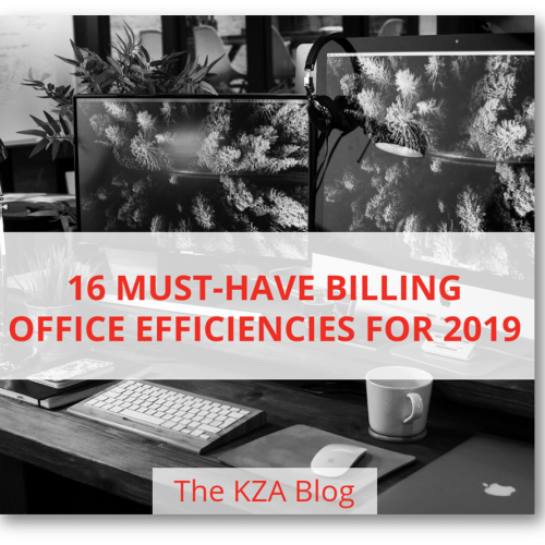 16 Must-Have Billing Office Efficiencies for 2019