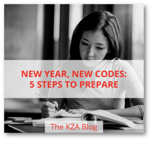 Blog - New Year, New Codes: 5 Steps to Prepare