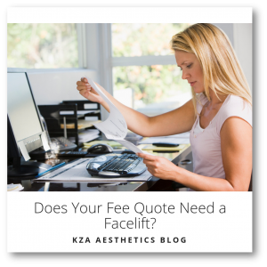 Does Your Fee Quote Need a Facelift?
